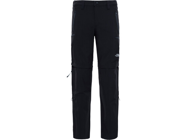 The North Face Exploration Convertible Pants long Men, tnf black